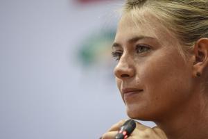 maria sharapova announcement press conference