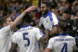 EPL table: Leicester, Tottenham's duel for title