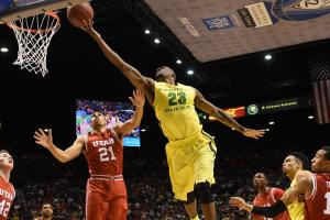 oregon ducks beat utah utes pac 12 tournament title