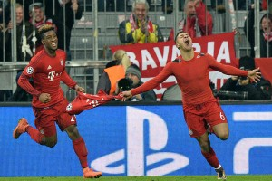 Kingsley Coman, Thiago score in extra time to lead Bayern Munich over Juventus in the Champions League