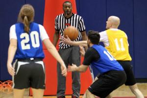 Washington Wizards' John Wall helps out at Special Olympics game