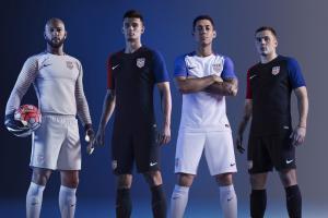 The new U.S. Soccer uniforms