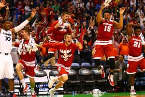 Wisconsin Badgers bench