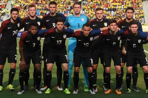 USA's U-23 national team takes on Colombia in the second leg of their Olympic qualifying playoff