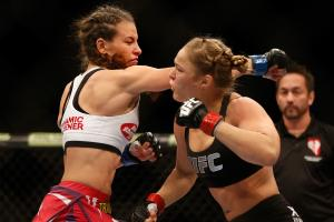 Tate on Rousey: She has 'one or two' fights left