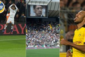 Cristiano Ronaldo, Cesare Maldini, Pierre-Emerick Aubameyang