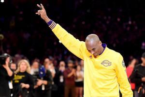 kobe bryant last game addresses fans video