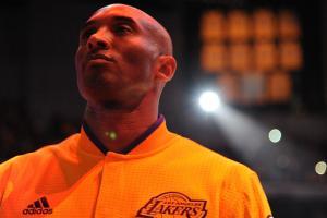 kobe bryant last game celebrities athletes staples center