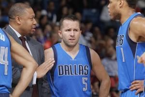 The Mavericks badly miss J.J. Barea