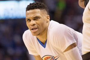 Watch: Mavs try interrupting Westbrook's dance