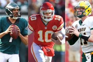 Sam Bradford, Chase Daniel and Carson Wentz could be on a very expensive Eagles' QB depth chart come September.