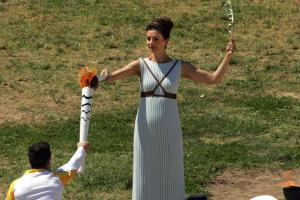Watch: Olympic torch lit in Greece