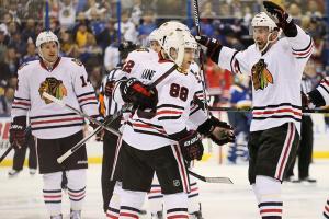 Kane's 2OT winner keeps Blackhawks' season alive