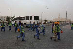 FIFA says it will monitor Qatar labor conditions