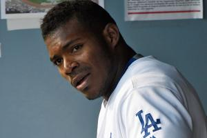 Watch: Yasiel Puig throws out Trevor Story