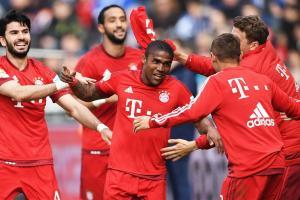 Watch: Bayern's Douglas Costa hits top-shelf
