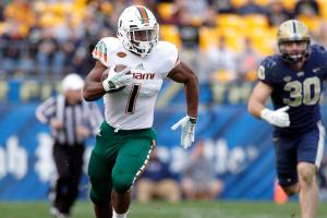 Miami suspends RB Mark Walton following DUI