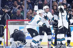 Sharks take Game 5 from Kings to win series