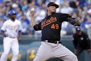 Orioles P Yovani Gallardo placed on DL