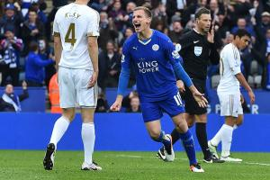 Leicester siezes chance in EPL race