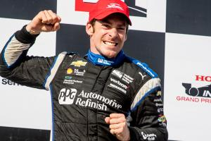 Simon Pagenaud wins at Barber Motorsports