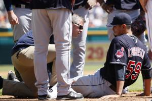 Indians place SP Carlos Carrasco on DL with hamstring s...