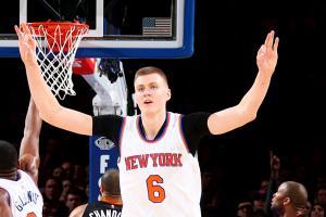 Watch: Knicks fans pray at altar of 'Porzingod'