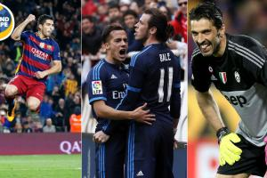 Luis Suarez, Gareth Bale, Gianluigi Buffon star for their clubs