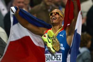 Olympic champion Felix Sanchez retires at 38