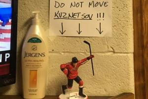 Firefighters think Capitals fate hangs on figurine