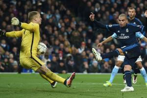 Man City misses chance against Ronaldo-less Real