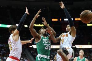 nba playoffs atlanta hawks boston celtics game five recap