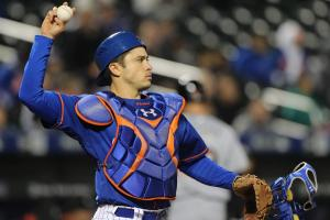 Mets C Travis d'Arnaud (rotator cuff) placed on DL