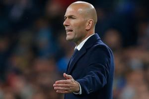 Zidane rips his Champions League pants–again