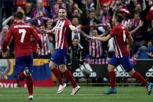 UCL: Saul golazo, defending lift Atletico Madrid