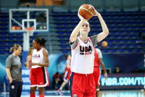 Breanna Stewart discusses her first Olympic team