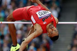 Olympian Jaime Nieto speaks after spinal surgery