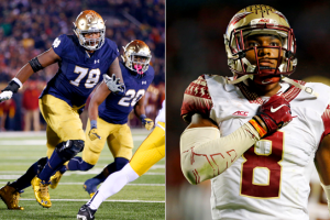 Ronnie Stanley and Jalen Ramsey