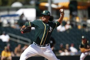 Athletics will call up Sean Manaea to start Friday