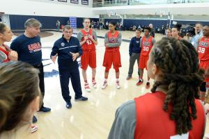 2016 U.S. Olympic Women's Basketball Team named