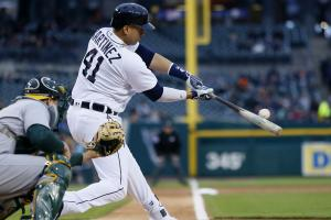 Victor Martinez: Offense was 'horses--t' vs. A's
