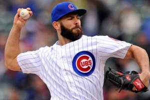 Arrieta's impressive streaks end vs. Brewers