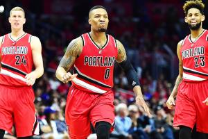 Blazers take control vs. Clippers as upset nears
