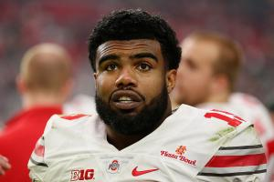Look, Ezekiel Elliott wore a crop top to the draft