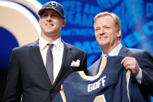 Jared Goff: Another No. 1 pick with a J first-name