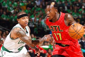 Hawks take advantage of Celtics' one-man offense