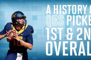 A history of QBs going 1-2 in the NFL draft