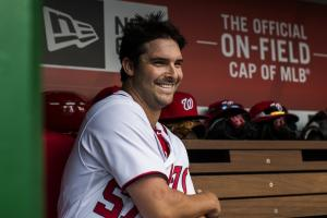 Tanner Roark's daughter wrote the Nats' lineup