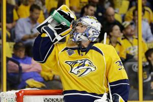 Three stars: Predators' Rinne leads team in win