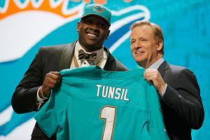 Tunsil skips interview due to 'allergic reaction'